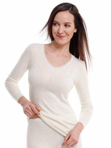 Dames hemd 1572 lange mouwen