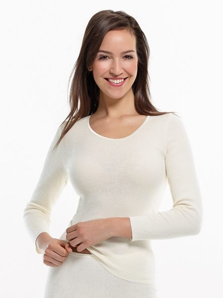 Dames hemd 3972 lange mouwen