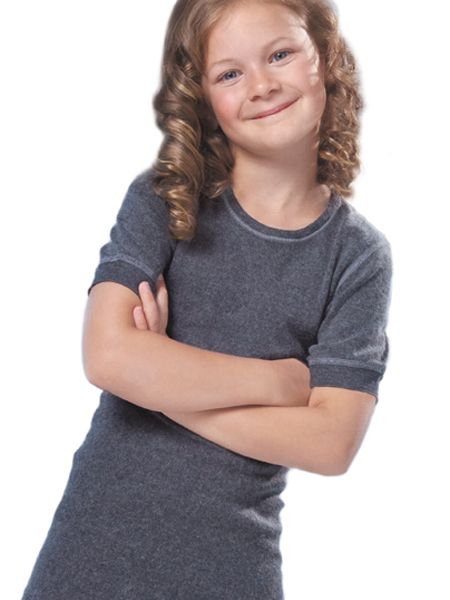 Kinderhemd 6082 korte mouw