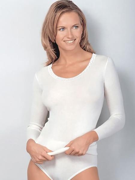 Dames hemd 1182 lange mouw
