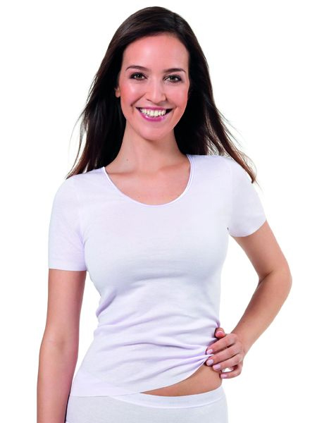Dames hemd 4071 korte mouw