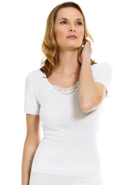 Dames hemd | t-shirt 4078 korte mouw