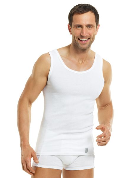 Heren hemd 6690 zonder mouwen Sport Silverline