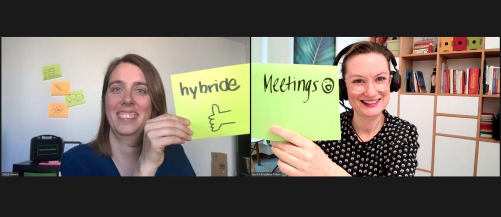 Hybride Meetings erfolgreich moderieren