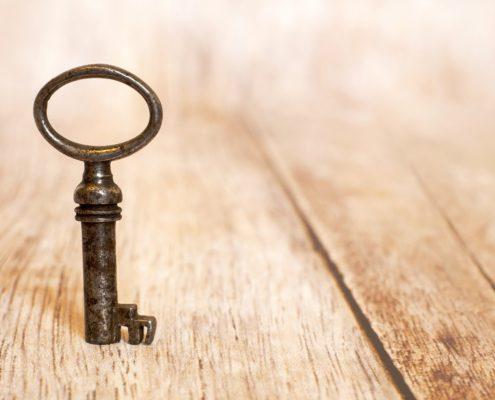 De sleutel van je geluk heb je zelf in de hand