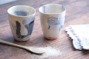 Porcelain cup - art and ceramics - Meike Janssens