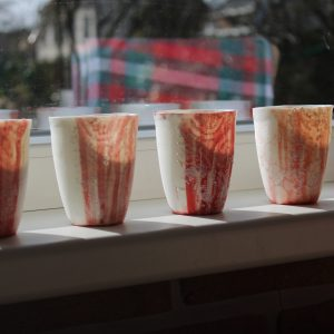 Meike Janssens – art and ceramics – porcelain cup
