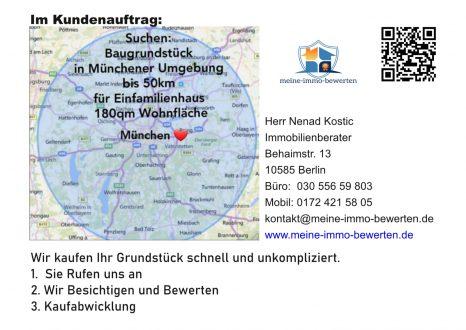 Suchen in Münchener Umgebung bis 50 km