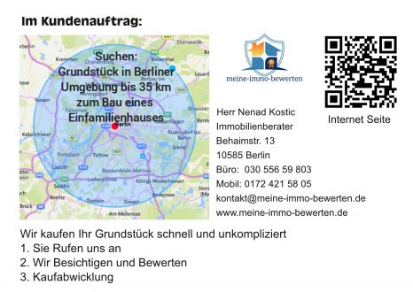 Suchen in Berliner Umgebung bis 35 km