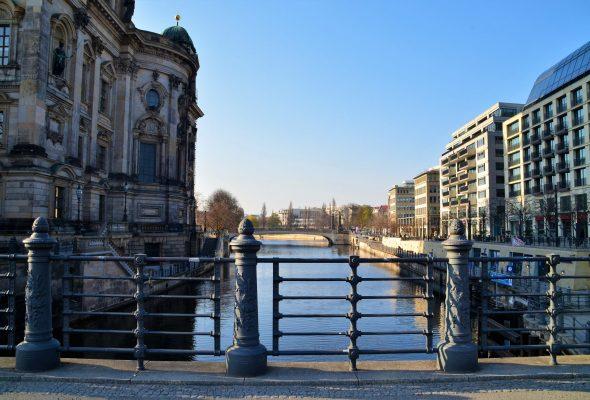 Die Schlossbrücke in Berlin Mitte