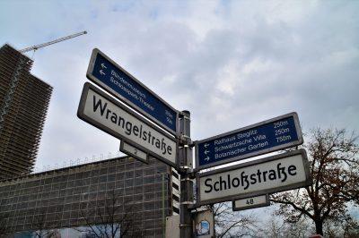 Wo soll' s hingehen.....