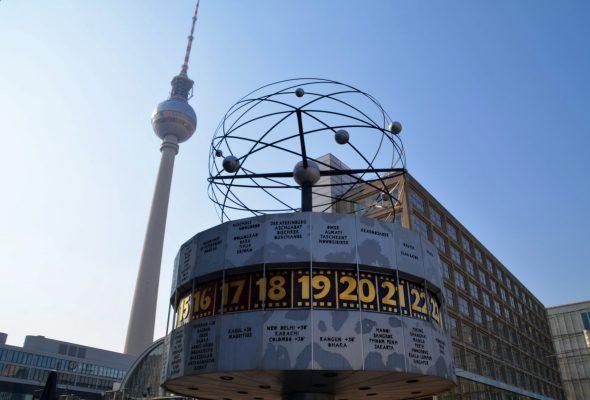 Alexanderplatz in Berlin Mitte