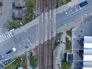 Spoorweg - Oversteekplaats