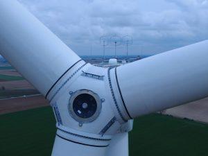 Windmolen close-up