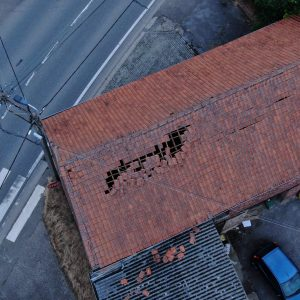 Schade aan dak