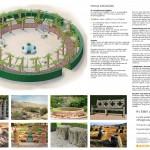 Allhelgonakyrkans park Pergola trädgård