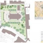 Allhelgonakyrkans park Befintlig plan
