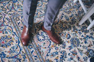 bröllop brudgum skor