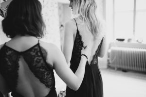 brudtärnor klänning