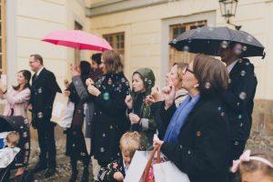 såpbubblor bröllop