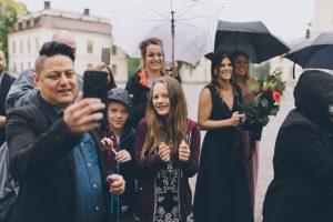 bröllopsgäster bröllop stockholm