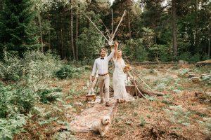 bröllopspars bröllopsfotograf