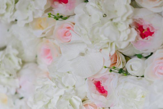 hyr blomvägg detaljer