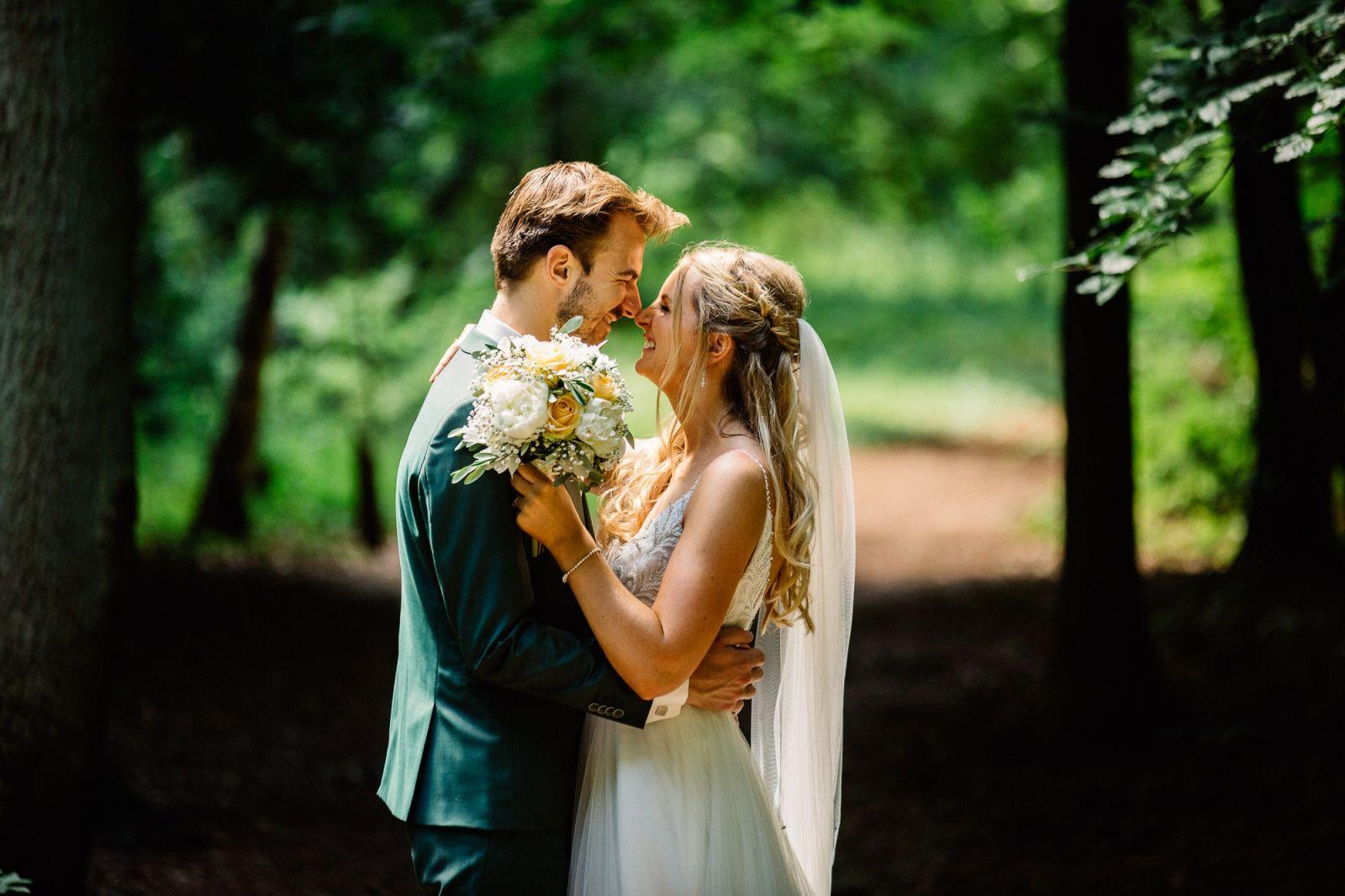 bruidsreportage groenendaal
