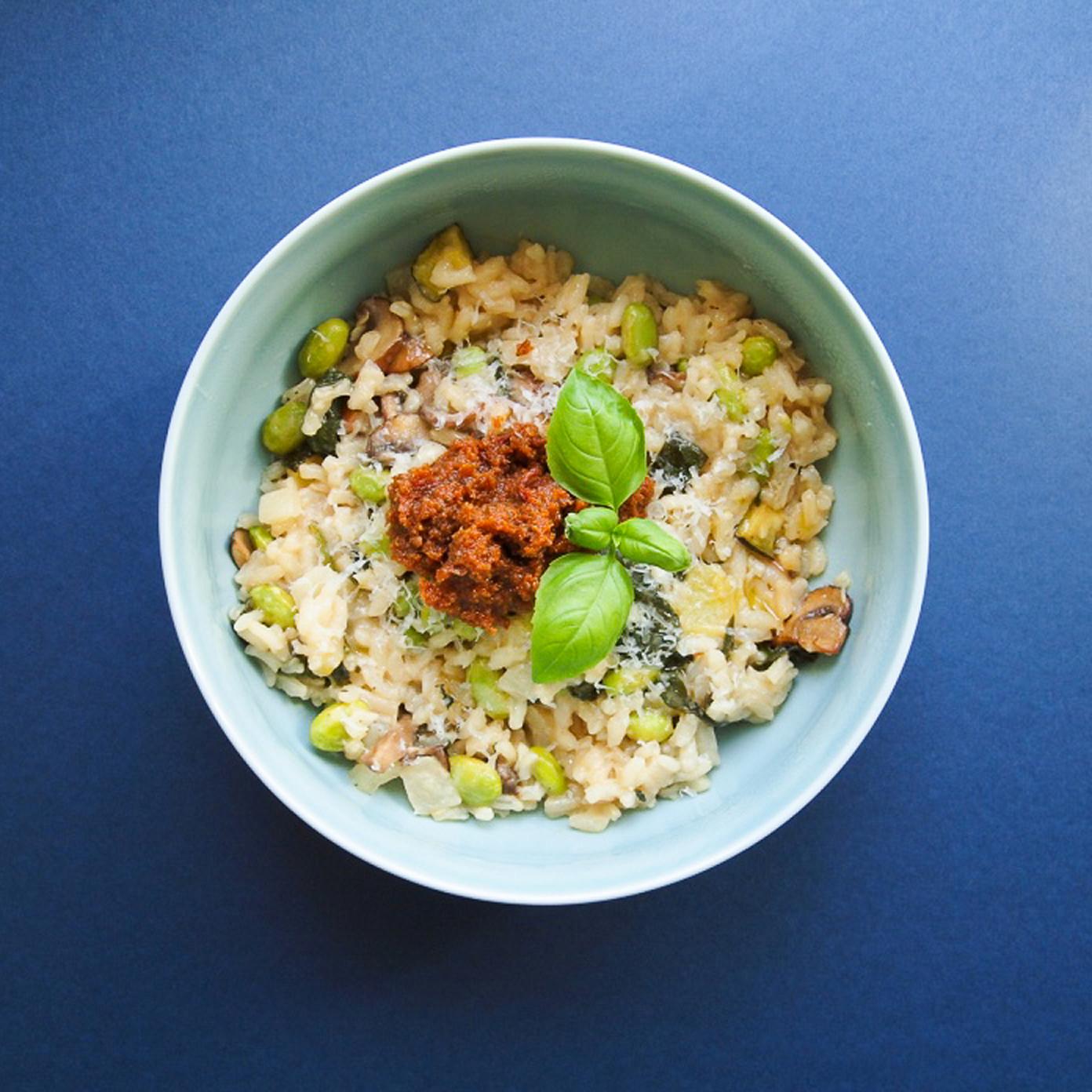 vegetar risotto