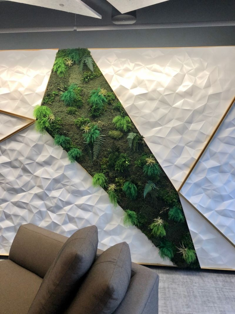 Moss art een uniek design. Jungle Mosswand