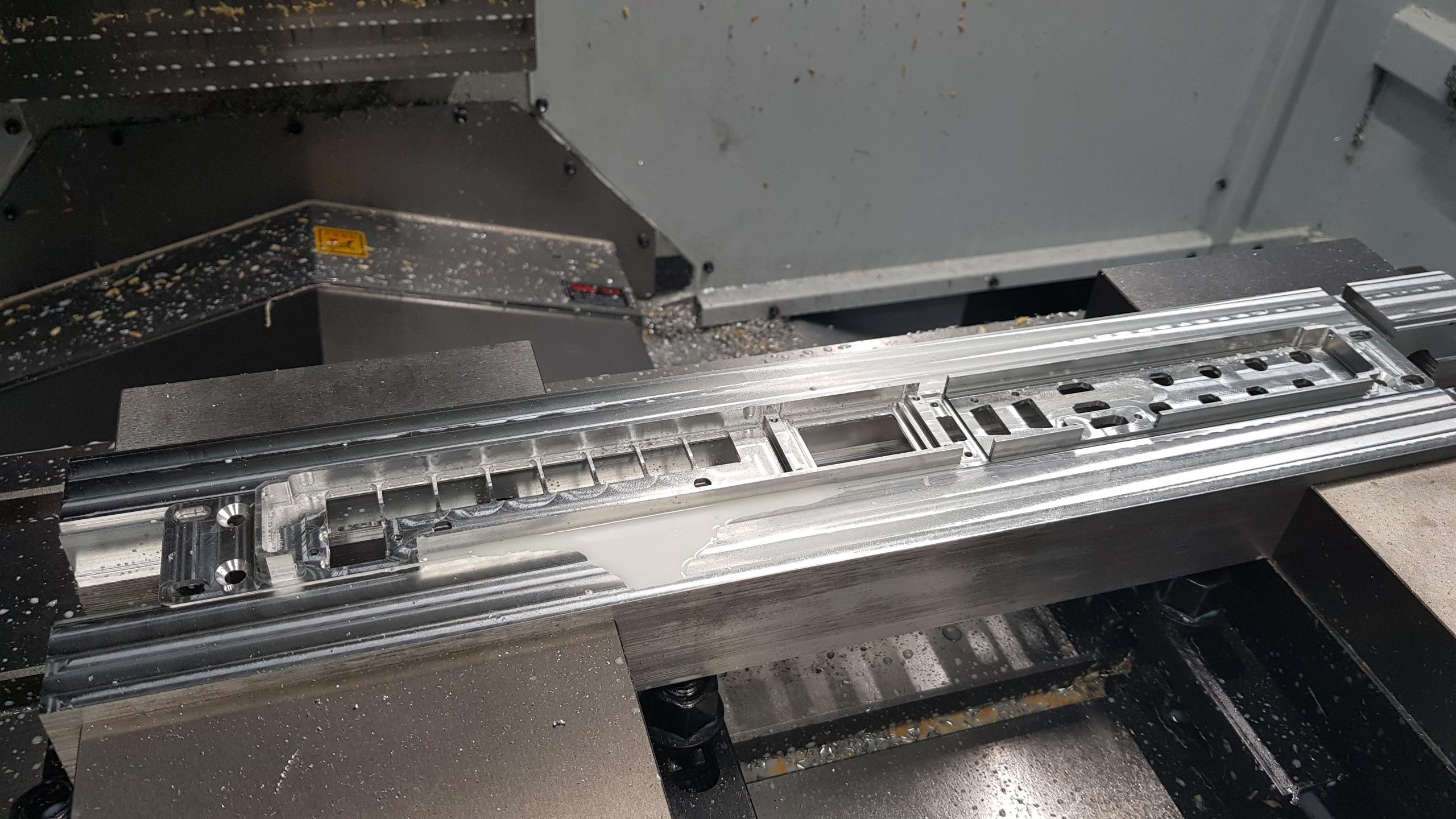 metaalbewerking CNC frezen