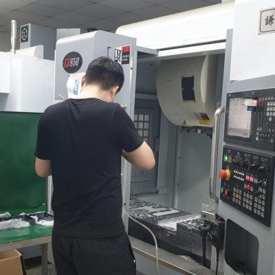 CNC machining door Metron Technics