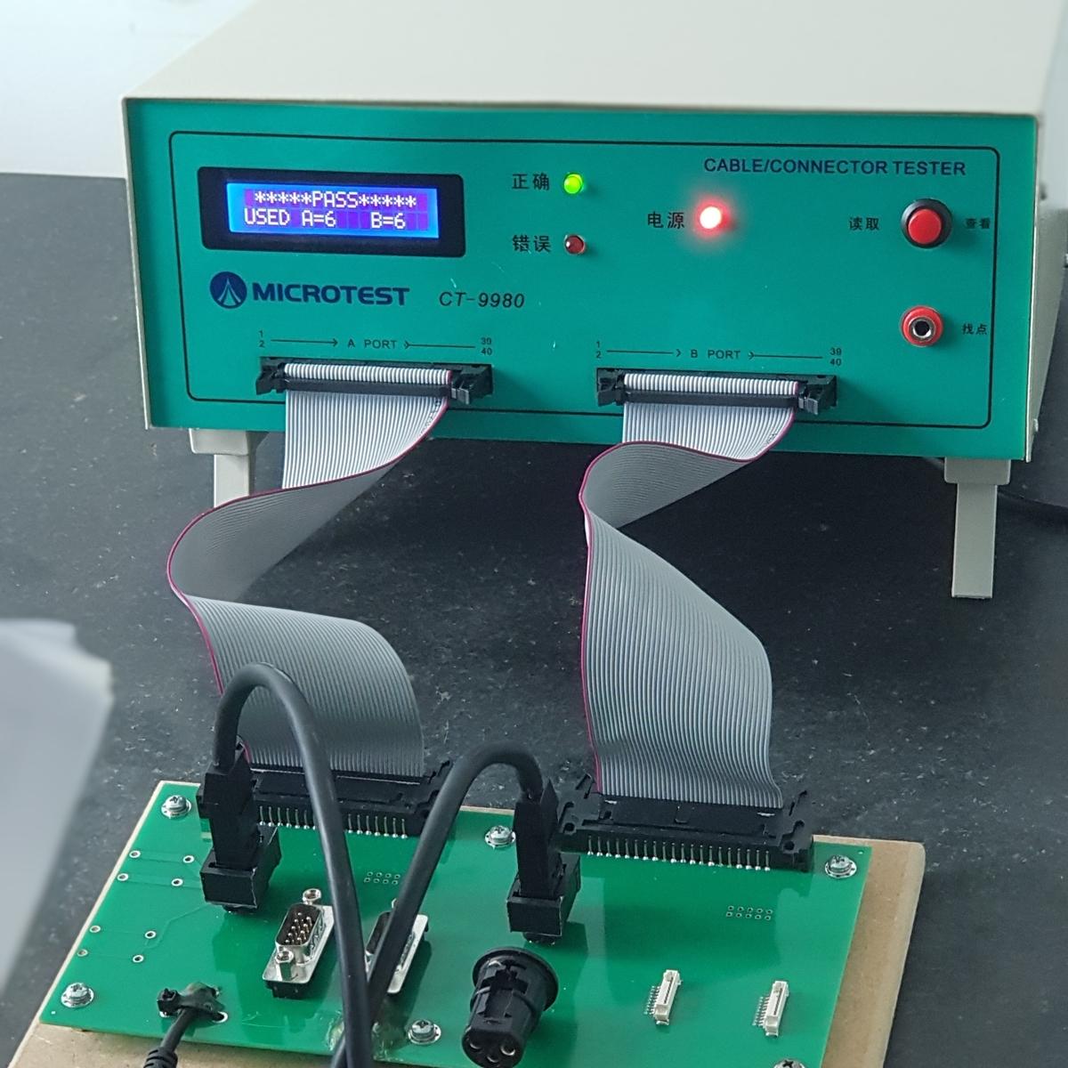 kabeltester is een teostel om elektrische kabels te testen