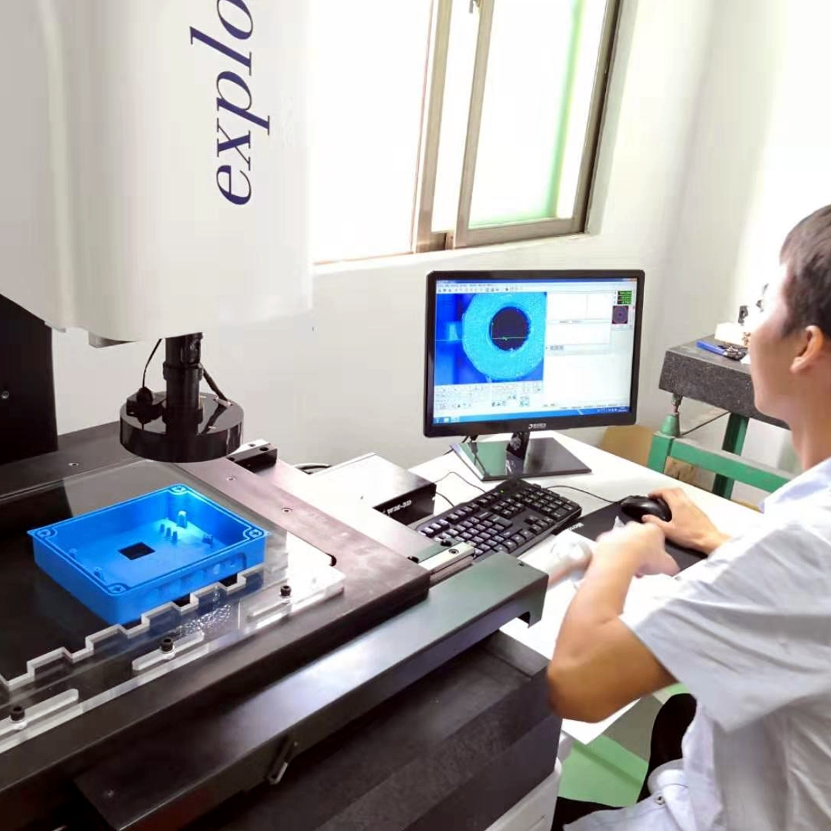 Kwaliteitscontrole bij productie in China