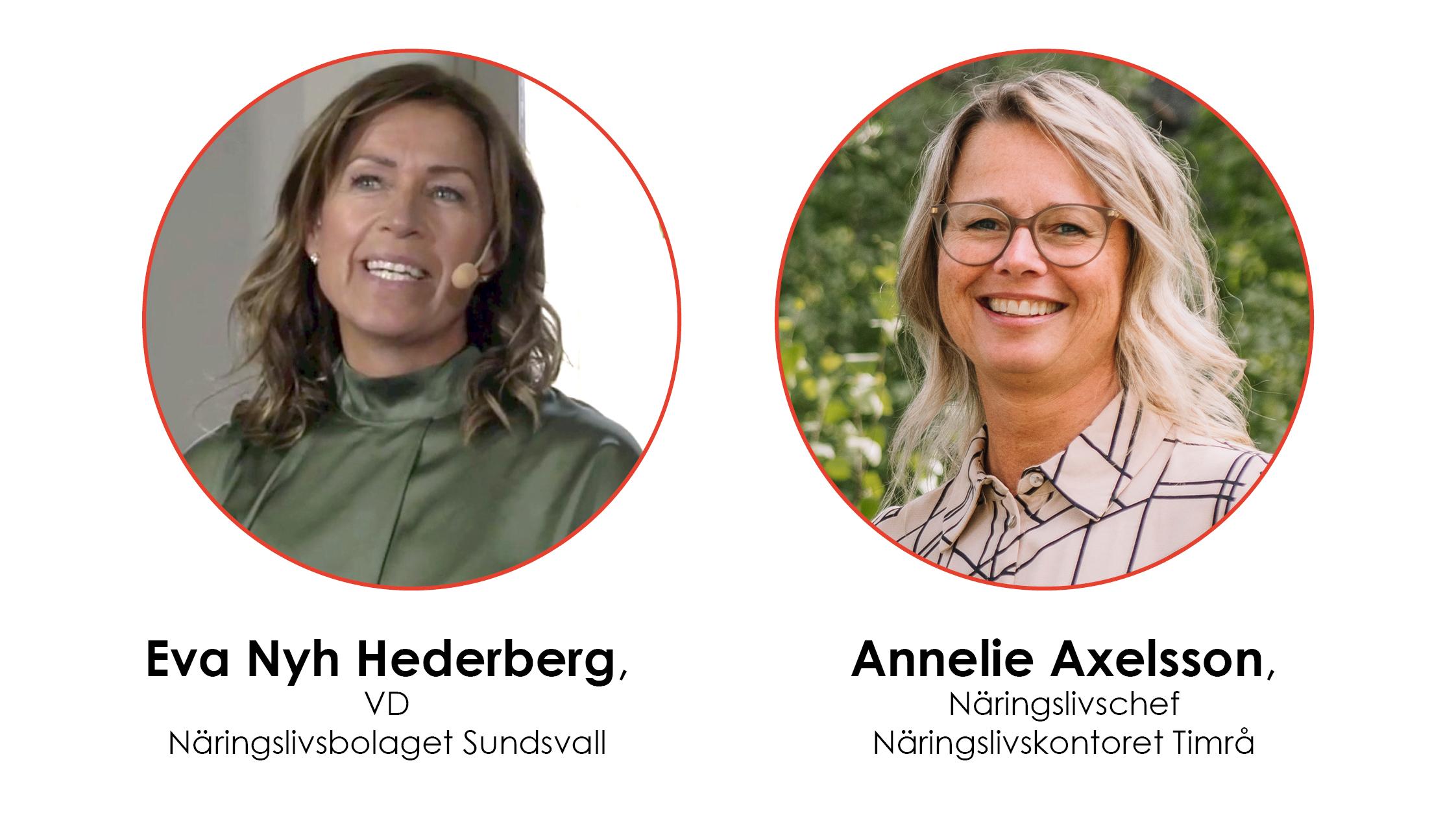 Eva Nyh Hederberg och Annelie Axelsson