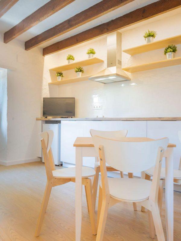 Apartamento reformado por franquicia arquitectura Estudios Mi Arquitecto