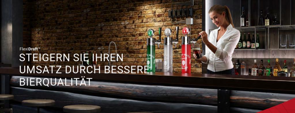 FlexiDraft TM - Steigern Sie Ihren Umsatz durch bessere Bierqualität