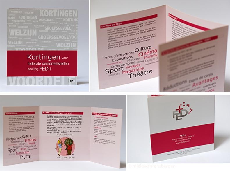 Flyer Fed+ Nederlands-en Franstalig