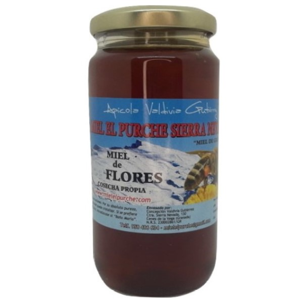 Miel de flores - Envase de 450 gramos