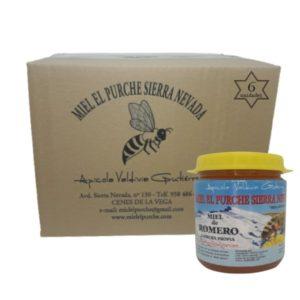 Caja oferta miel de romero