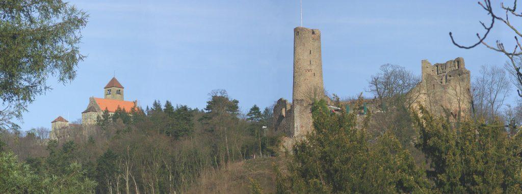 Weinheim Burgenblick