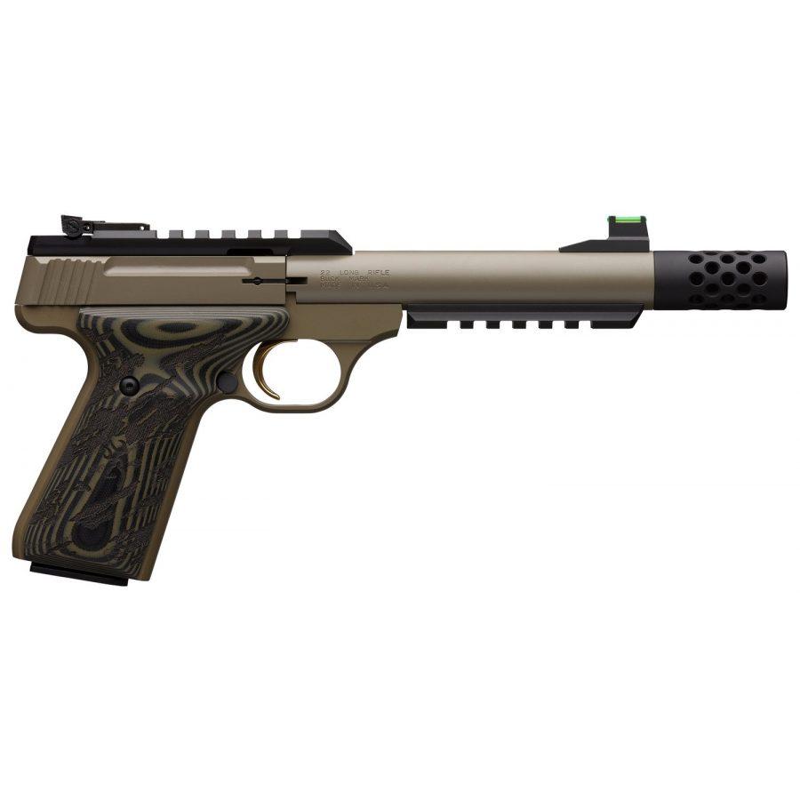 Browning Buck Mark Plus FDE .22LR