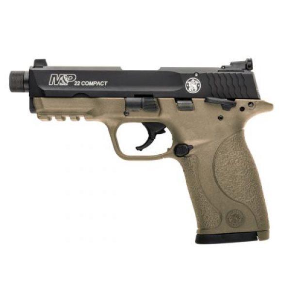 Smith & Wesson M&P 22 FDE Threaded Barrel .22lr