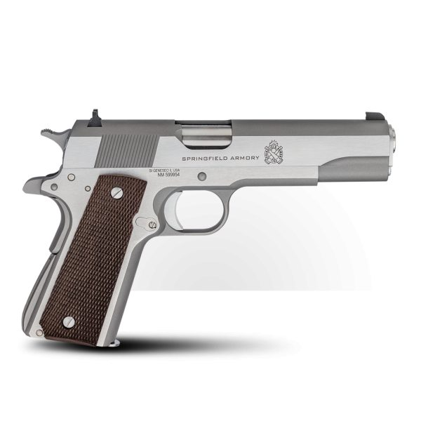"""Springfiels 1911 Mil-Spec """"Defend Your Legacy'' Stainless .45ACP"""