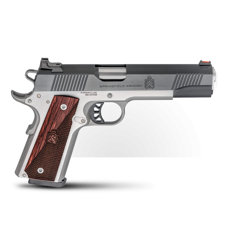 Springfield 1911 Ronin Operator Stainless/Blued .45ACP