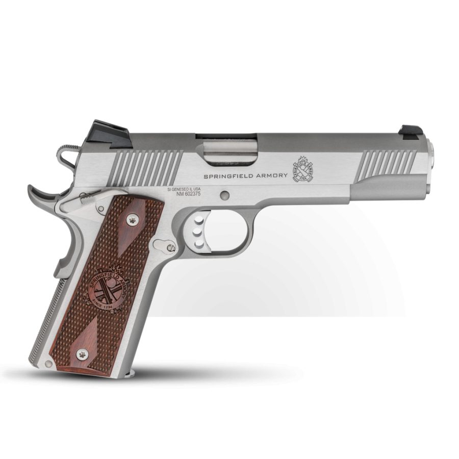Springfield 1911 Loaded Stainless .45ACP
