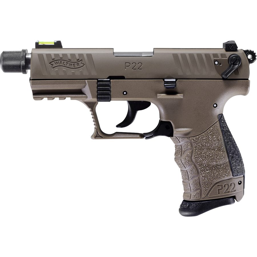 Walther PPQ22 Tactical FDE .22lr