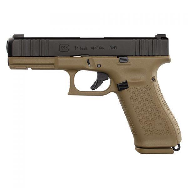 Glock G17 Gen5 FR Coyote 9mm