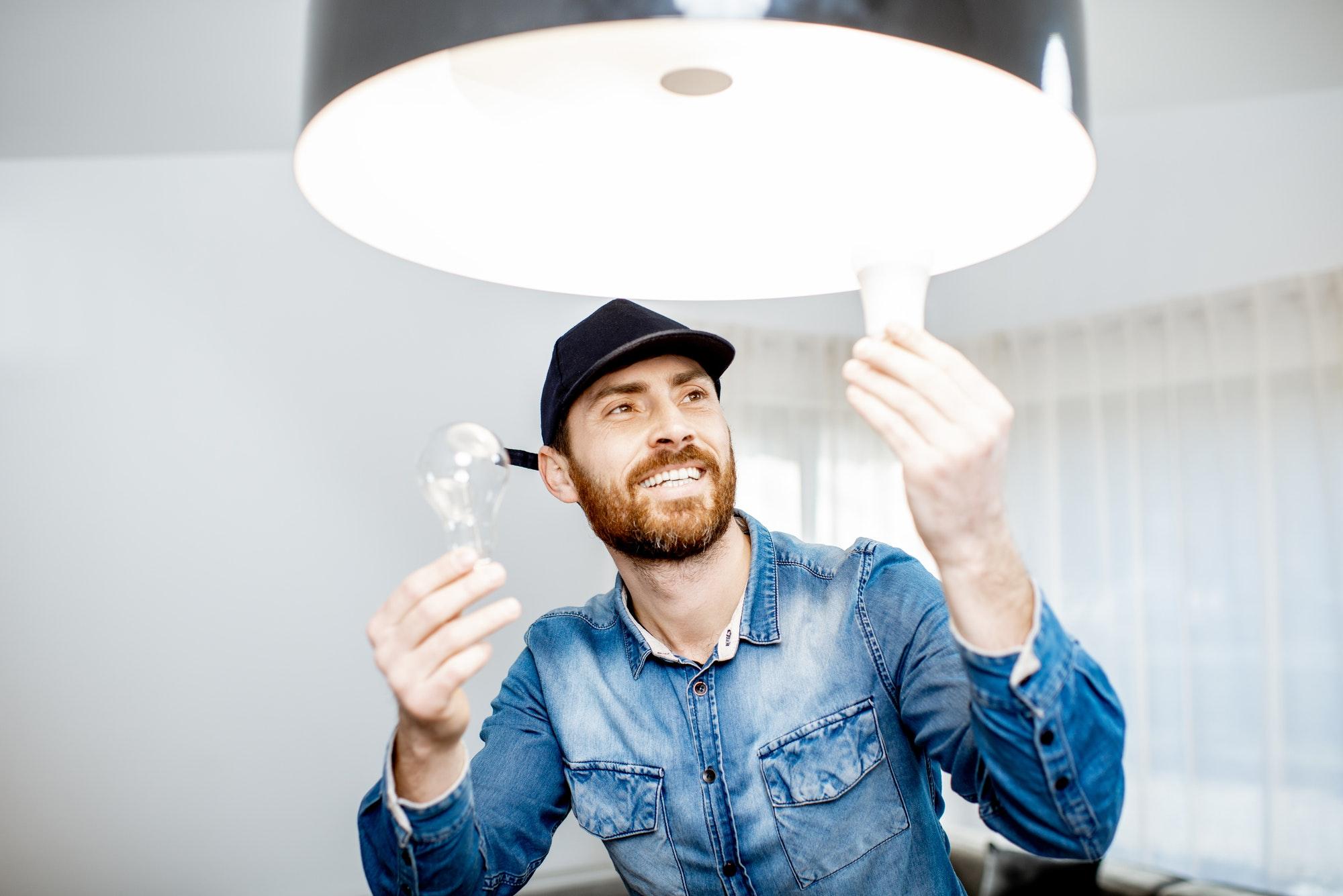 Lampeopsætning. Byggestrøm og Elinstallatør København - Akut Elektriker
