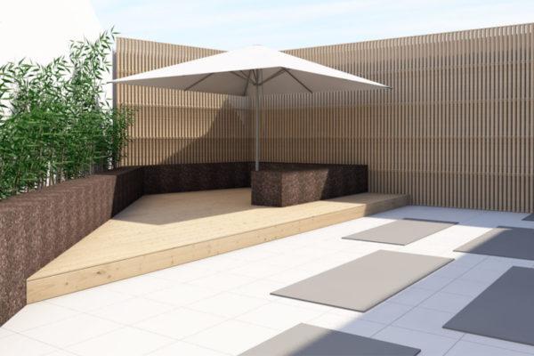 espaço de aula exterior